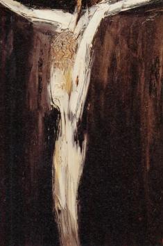 """William Congdon, """"Crucifixion #2"""" (1960)"""