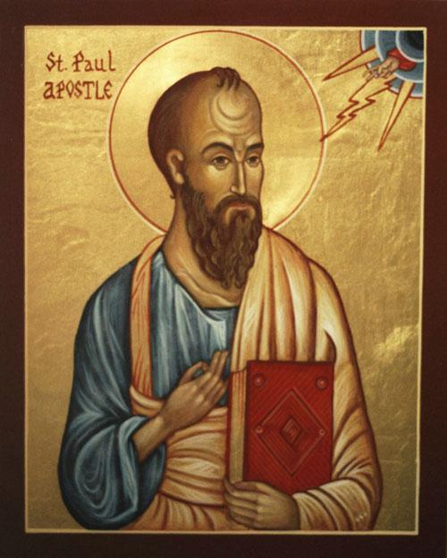 Apostle paul shaved head