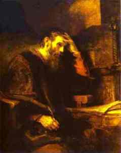 Rembrandt, The Apostle Paul