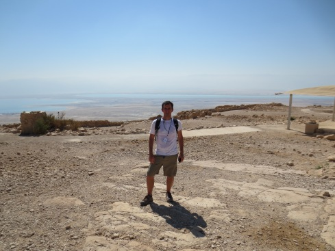 After the Climb up Masada