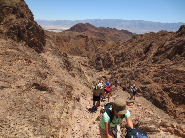 Climbing Mt. Timna (or, Making Our Way to Mordor)