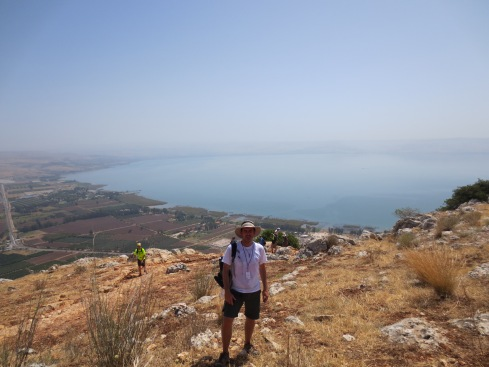 Climbing Mt. Arbel, Overlooking the Sea of Galilee