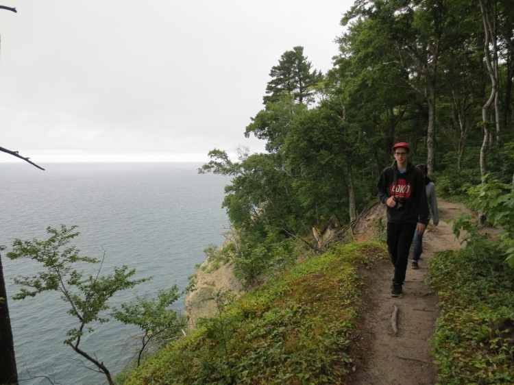 Pathway along the edge